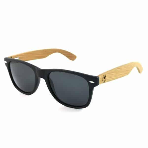 polarized zonnebril zwarte glazen leukezwembroeken.nl